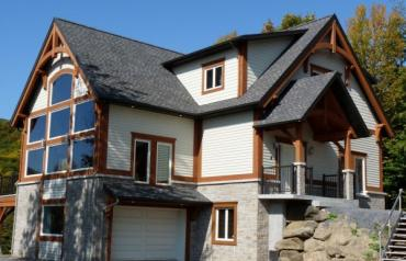 Timberframe Property, near Quebec City, Canada