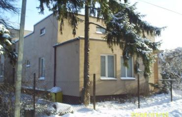 House with a huge lot 20 miles from center of the capital city of Warsaw, Poland.
