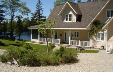 Custom Built Lakeside Home