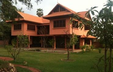 Unique home on country estate near Angkor Wat, Siem Reap, Cambodia