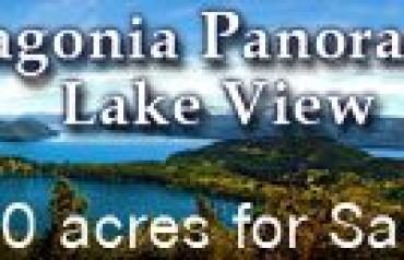 Patagonia Panoramic Lake View Land
