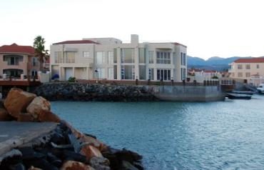 Rare Oceanfront Home in Private Marina