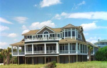 Luxury oceanfront estate on exclusive Bald Head Island