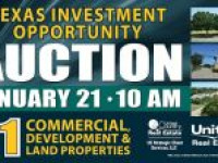 Incredible Texas Investment Opportunity Auction