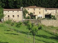 Three storey stone farmhouse in Haut Vivarais,  F