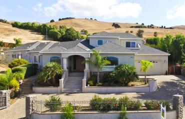 Custom Built 2003 Mansion on 3/4+ Acre in Silicon Valley Hills