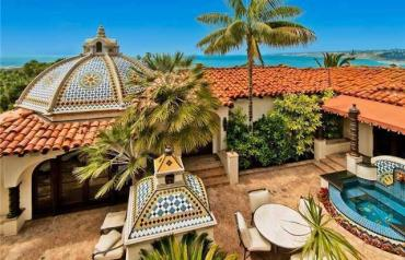 Extensively remodeled ocean view olde world estate.
