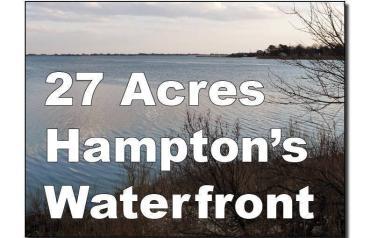 Hamptons Waterfront - 27 Acres