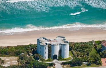 Castle on the Beach in Florida