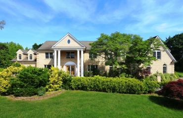 Exquisite 5 Bedroom, 7 Bath Center Hall Colonial Estate Home