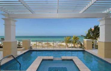 4Bed 3.5Bath Orchid Beach Club Villa   202D Beachfront Sarasota  Florida