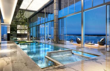Penthouse 1451 Brickell Avenue, Miami