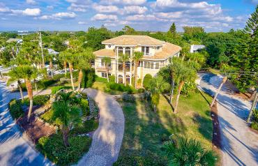 Florida USA Unique Beach Front Property for sale on a small exclusive island.